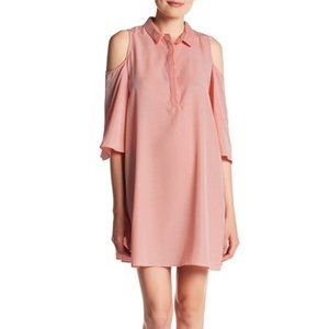 Do + Be Cold Shoulder Shirt Dress Size Small
